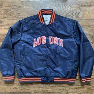 Vintage Auburn Tigers 1980s Bomber Jacket • sz XXL